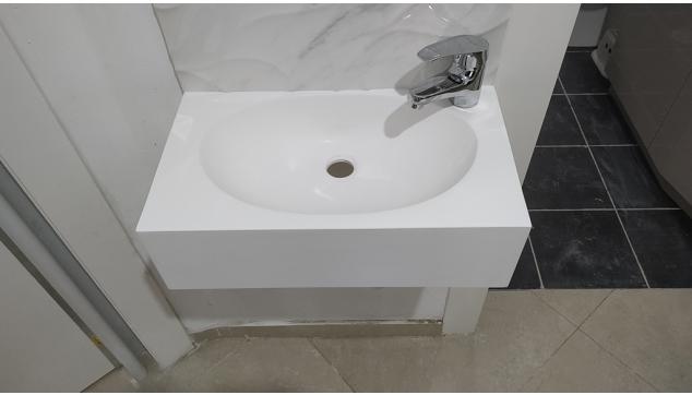 כיור בודד-אגן כיורים-חדר שירותים
